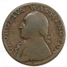 (1795) Plain Edge North Wales Washington Half Penny 1/2p