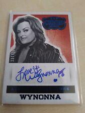 Wynonna Judd 2014-15 Country Music Blue Auto #230/299