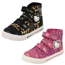 Chaussures Hello Kitty en toile pour fille de 2 à 16 ans