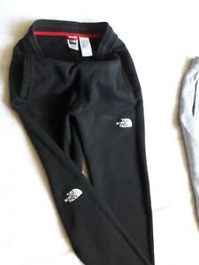 Boys North Face Joggers black Size Large  Youth L/G very good condition