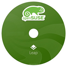openSUSE Leap 15.00 32 BIT Linux desktop , Suse Linux DVD
