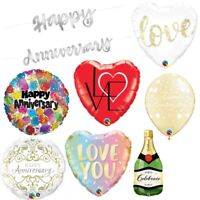 Happy Anniversary Wedding Party Supplies Tableware, Decorations & Balloons