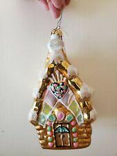 "Polonaise Ornament - ""Gingerbread House"" - # Gp664"