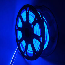 Blue 150ft LED Neon Rope Light Waterproof Club KTV Christmas Decor Outdoor 110V
