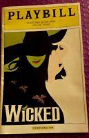 Wicked Playbill Program Fair Park Music Hall Dallas Texas 2010