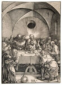 Albrecht Durer The Last Supper paper or canvas reproduction