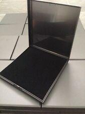 JOBLOT ALL'INGROSSO 20 scatole nere a cerniera colletto scatole regalo gioielli collana Set