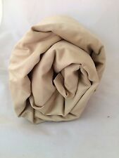 Pebble 600TC California King Fitted Sheet Company Store Beige Sand Ecru CK