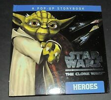 POP UP. Star Wars The Clone Wars. Heroes. 2010. NEUF