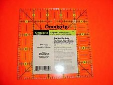 Omnigrip Neon Green 5 inch x 5 inch Square Ruler for Quilting