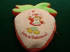 Strawberry Shortcake Back Pack with Sleeping Bag 2004 MINT CONDITION!!