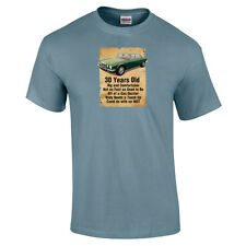 30 Year Old Jaguar XJ6 30th Birthday Gift Funny T-Shirt Colour Choice to 5XL
