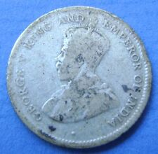 Ceylon (Sri Lanka)  - 25 cents 1913 George V - KM# 105