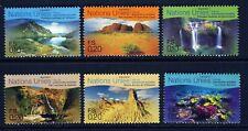 UN Geneva .1999 Australia World Heritage BOOKLET Singles (6) . Mint Never Hinged