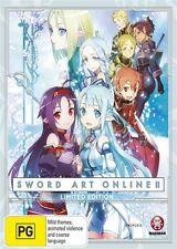 Sword Art Online 2: Part 4 Limited Edition NEW Blu-Ray