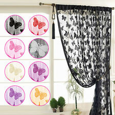 Decorative Fringe Room Divider Fly Screen Tassel Butterfly String Curtain Panel