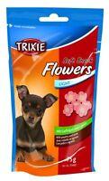 6 Pièce Trixie Doux Friandise Fleur Agneau Volaille 6 X 75 G pour Chien
