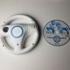 Mario Kart Game (Nintendo Wii, 2012) + 1 OEM Official Steering Wheels [TESTED]