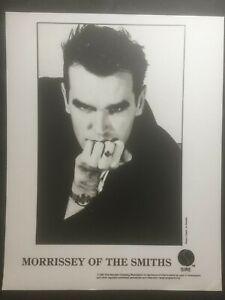 Morrissey 1987 promo photo Viva Hate? Sire Records