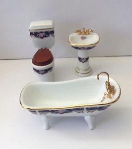 Dolls House Reutter Bathroom Suite
