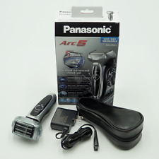 Panasonic Arc5 Men's 5-Blade Cordless Shave Sensor Electric Razor | ES-LV65-S