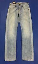 Lee Ripley W31 L36 tg 45 jeans uomo usato gamba dritta relaxed boyfriend T531