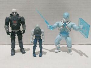 Mr. Freeze Action Figure Lot Of 3 Figures