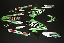 Kawasaki KLX 450r MX Graphics Kit Decals Kit Sticker Kit Stickers