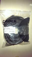 50M BLACK PREMIUM 165FT RJ45 Cat6 LAN Ethernet Network Cable 10m/100m/1000Mbps