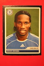 PANINI CHAMPIONS LEAGUE 2006/07 # 105 CHELSEA DROGBA BLACK BACK MINT!