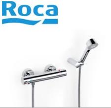 Thermostatic Shower Mixer bar - Roca Targa-T Kit NEWChrome Plated A5A1360C00
