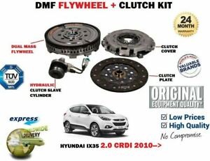 FOR HYUNDAI IX35 2.0 CRDI + 4WD 2010--> NEW DUAL MASS DMF FLYWHEEL + CLUTCH KIT
