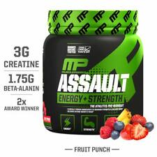 MusclePharm Assault Sport Pre-Workout Powder 30 Servings (Fruit Punch) FS