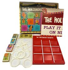 Vintage The Hollywood Squares Game - EUC - COMPLETE - 1967