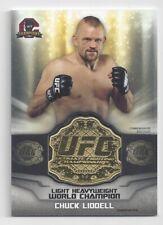 2014 Topps UFC Champions Belt Plate Chuck Liddell #CB8