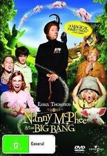 NANNY MCPHEE [2] & [And] The BIG BANG [RETURNS] DVD Movie BRAND NEW SEALED R4