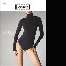 Wolford Colorado String Body - M - black ... nahtloser Rollkragen String Body