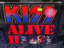 Kiss Alive II SEALED USA 1977 1ST PRESS GATEFOLD 2 LP SET W/ HYPE STICKER
