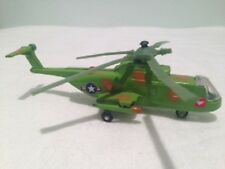 Vintage WHEELER Sikorsky HH-3E 'Jolly Green Giant' die-cast helicopter 1970's