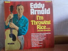 Eddy Arnold I'm Throwing Rice Vinyl LP