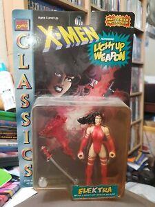 "Marvel Comics X-Men Classics Elektra Action Figure 5"" Toy Biz Vintage 1996 New!"