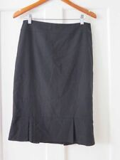 Cue Viscose Solid Skirts for Women