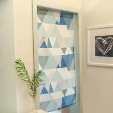 Geometric Printed Kitchen Doorway Curtain Tapestry Cotton Linen Drapes Panel SH