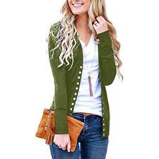 7fae5c4d192130 Damen Cardigan Strickjacke Weste Bolero Longshirt Bluse Pullover Winter  Jacke XL
