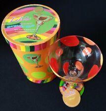 New listing Lolita Mango Margarita Glass New in Box Small Defect