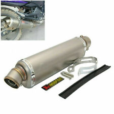 Universal 38-51mm Motorcycle Dirt Bike Exhaust Muffler Tail Pipe for Right Side