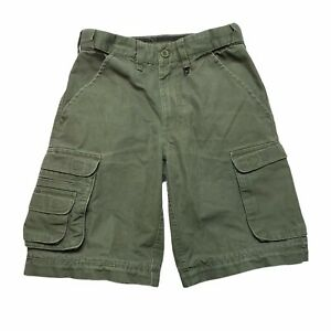Boy Scouts of America Uniform Military Cargo Shorts Army Green Youth 8