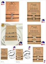 Two Parts Partners Best Friend Friendship BFF Bracelet Set Couples Gift