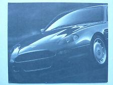 Prospekt Aston Martin DB 7, ca.1995, 2 Seiten, Rückseite Daten