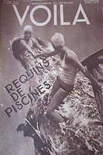 REPORTAGES PHOTOS VOILA 1933 VOYAGE AMAZONIE CLAUDE FARRERE CHICAGO PISCINES